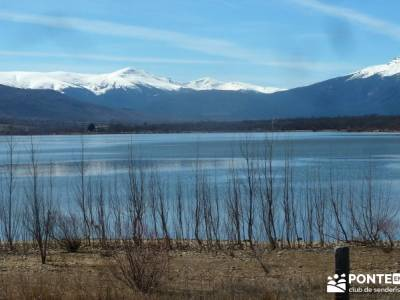 Camino Natural Valle del Lozoya; bosque de oma paisajes de nieve circo glaciar ofertas viajes agosto